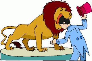 Lion, eating my brains.