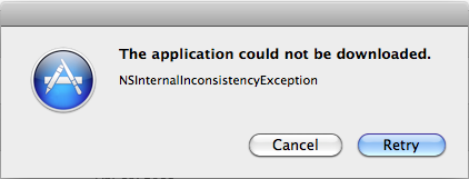 Failing to install Lion